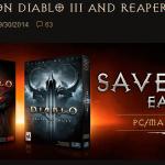 Diablo3&追加パッケージ Reaper of soulsが半額セール